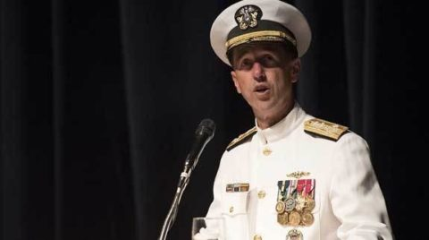 Navy Chief Reminds Flag Officers Of Moral Ethical Duties