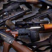 Pile of Rifles