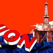 Exxon oil rig