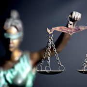 Lady Justice scales