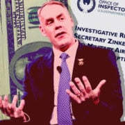 Zinke investigation money