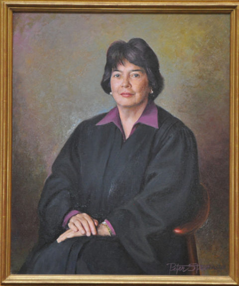Portrait of Judge Wald