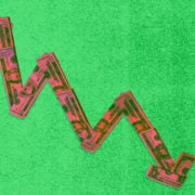 US bills form a downward arrow