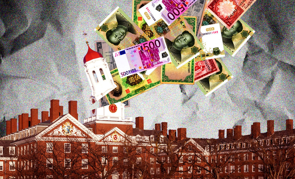 Universities on the Foreign Payroll