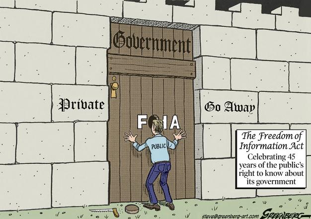 FOIA cartoon