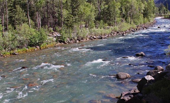 Animas River pre-spill