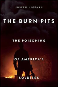 Book cover: The Burn Pits by Joseph Hickman