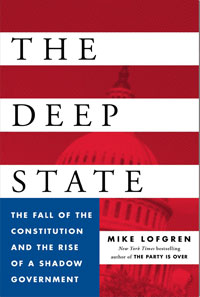 Book cover: Deep State by Mike Lofgren