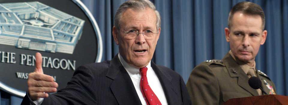 Photo of Donald Rumsfeld