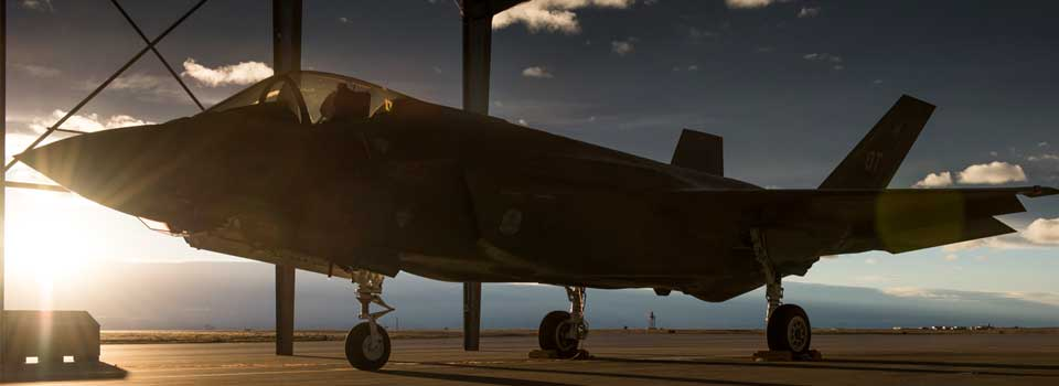 F-35 in the Idaho Sunset