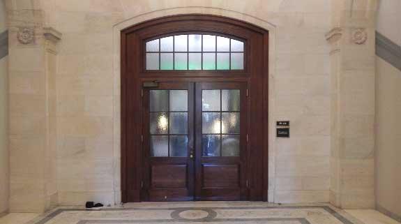Senate Armed Services Committee Hearing Room Door