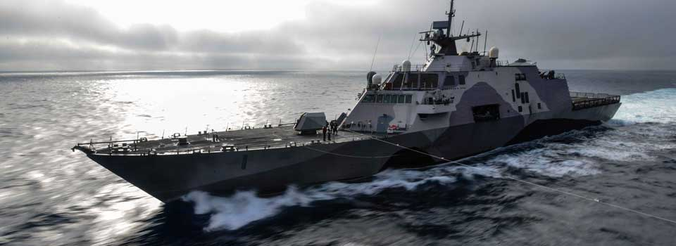 Photo fo the USS Freedom (Littoral Combat Ship LCS1)