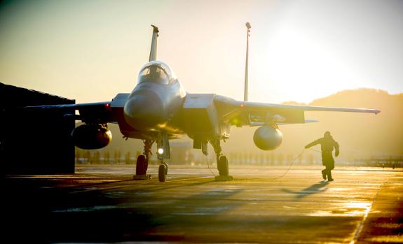 F-15 in South Korea Gwangju 575