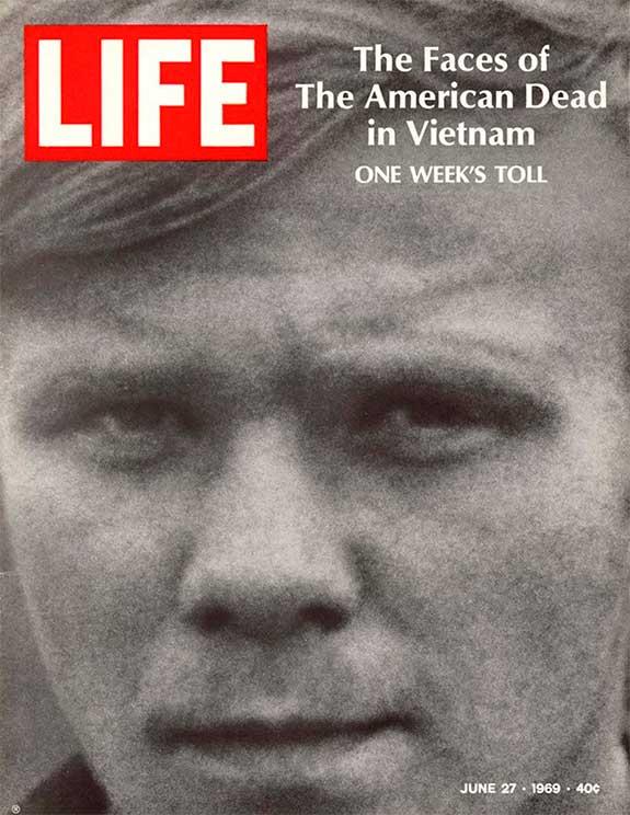 Photo of  LIFE magazine Vietnam Cover
