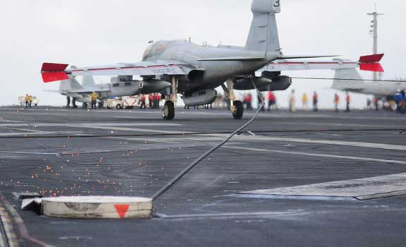 EA-6B Prowler Recovery