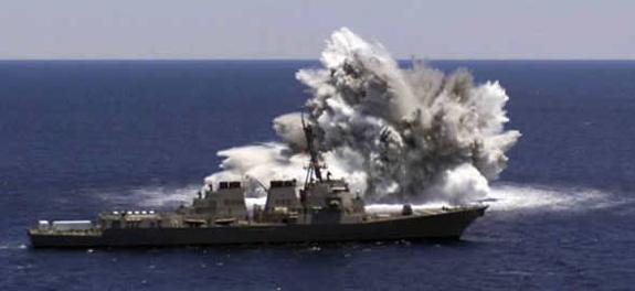 USS Churchill shock trial