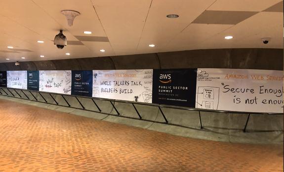 Pentagon Metro Amazon AWS Ads