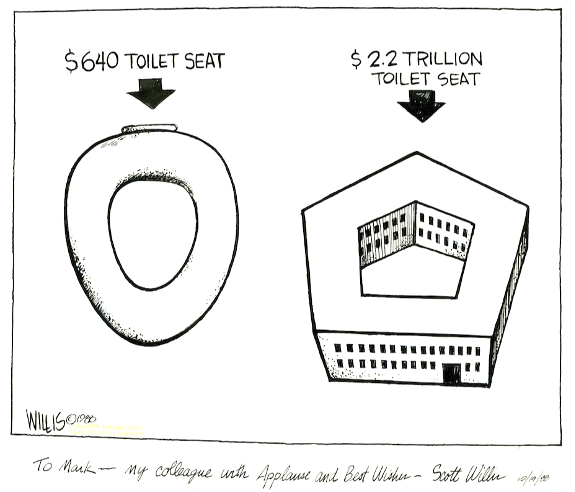 Pentagon toilet procurement