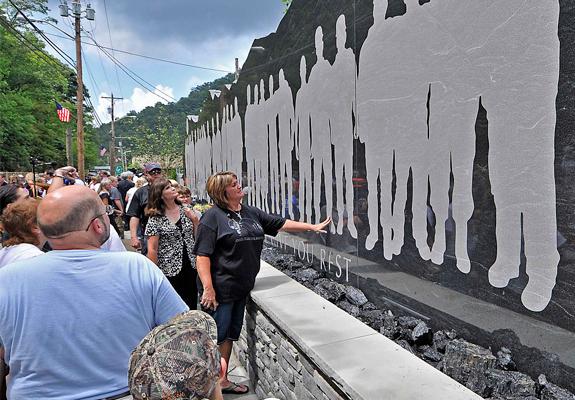 UBB mine memorial