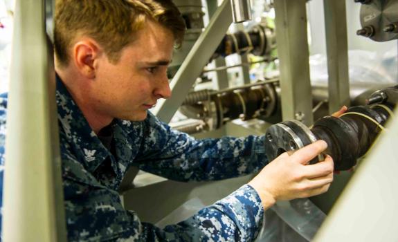 USS Ford repairman