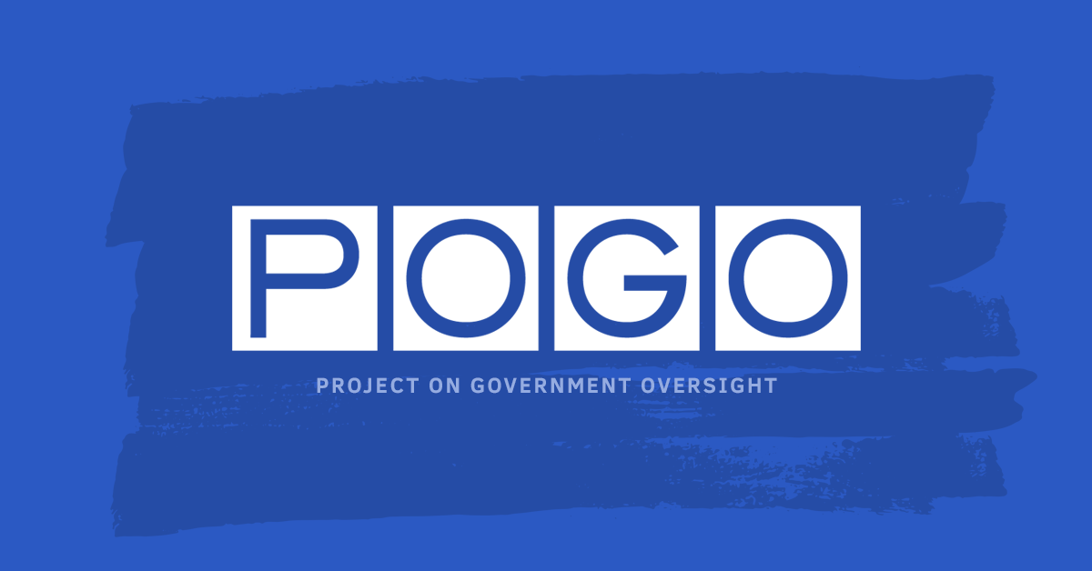 Testimony of POGO's Angela Canterbury on Transparency and Accountability